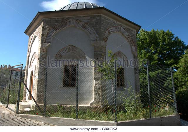 the-mausoleum-of-musa-baba-in-terpsithea-square-upper-town-thessaloniki-The Mausoleum of Musa Baba, in Terpsithea square, upper town Thessaloniki, Greece