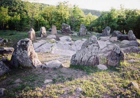 Thracian Cult Megalith Monument – Cromlech near the village of Dolni Glavanak, Madjarovo municipality