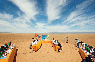 gobi çölünde mogolistan-bakanlar