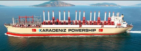 karadeniz santral gemisi