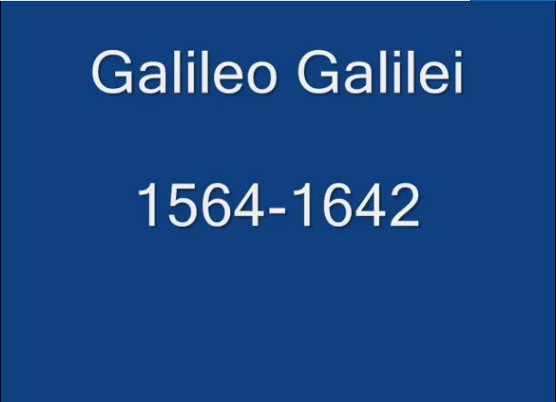 GALİLE HALA YARGILANIYOR