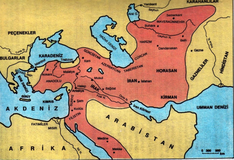 büyük secuklu harita..1