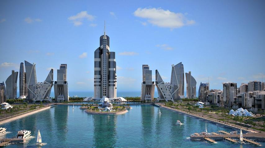'Azerbaijan Tower'