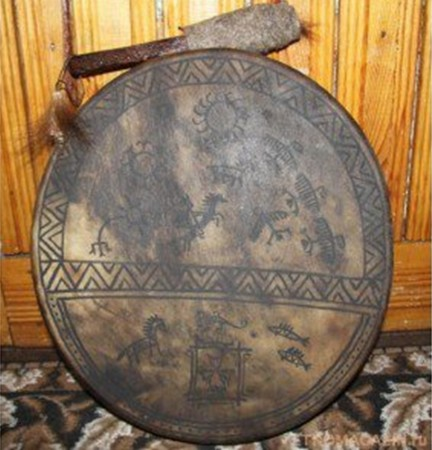 Şaman taulu