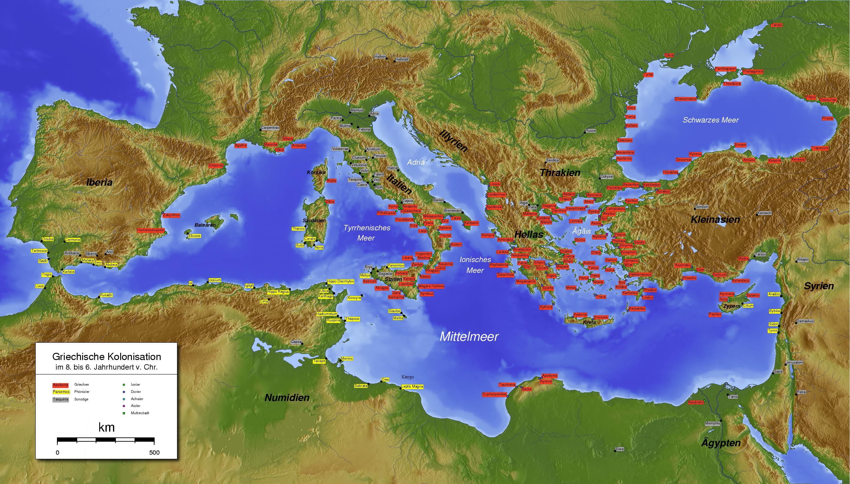 grek kolonileri