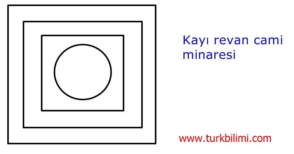 kayı revan cami MİNARE PLANI