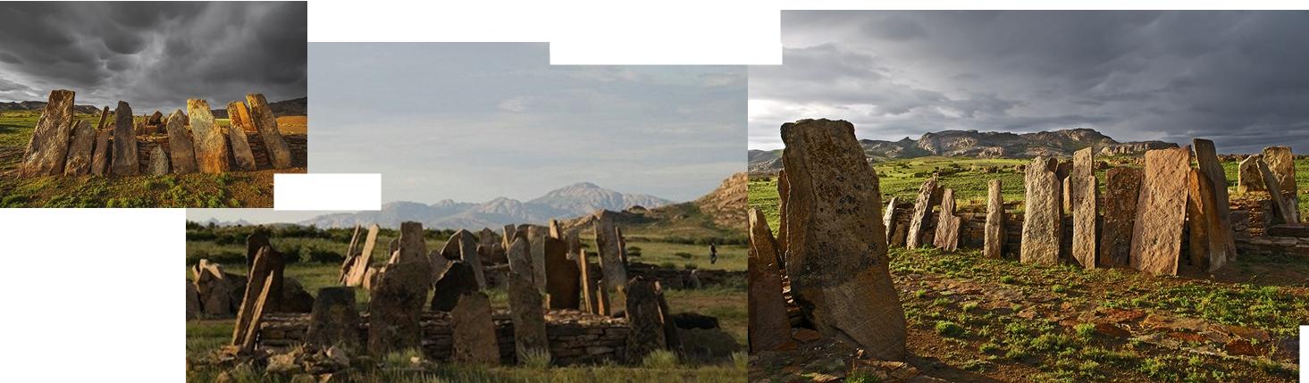 Aktogay Kazakistan antik mezarları