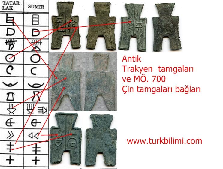 mö.700 trakyen-çin antik tamgaları