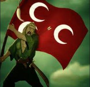 Bayrak ve Türk Ulubatlı Hasan
