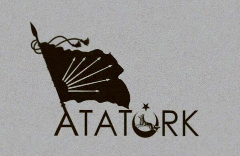 Atatürk'ün hazırlattığı Bozkurtlu CHP amblemi