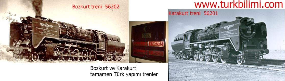 Bozkurt ve Karakurt tamamen Türk yapımı trenler