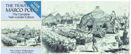 Marko polonun kayıtlarında cengiz han otağı
