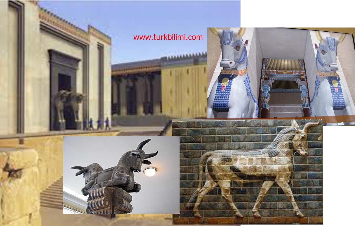 antik persepoliste ox-öküz tamgası