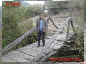 Samsun Alaçam- Kaluk Demirci Köyü ahşap köprüsü