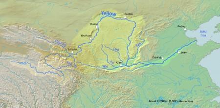 Sarı su -Sarı nehir Yellowriver Gan su(kan su-kırmızı nehir)