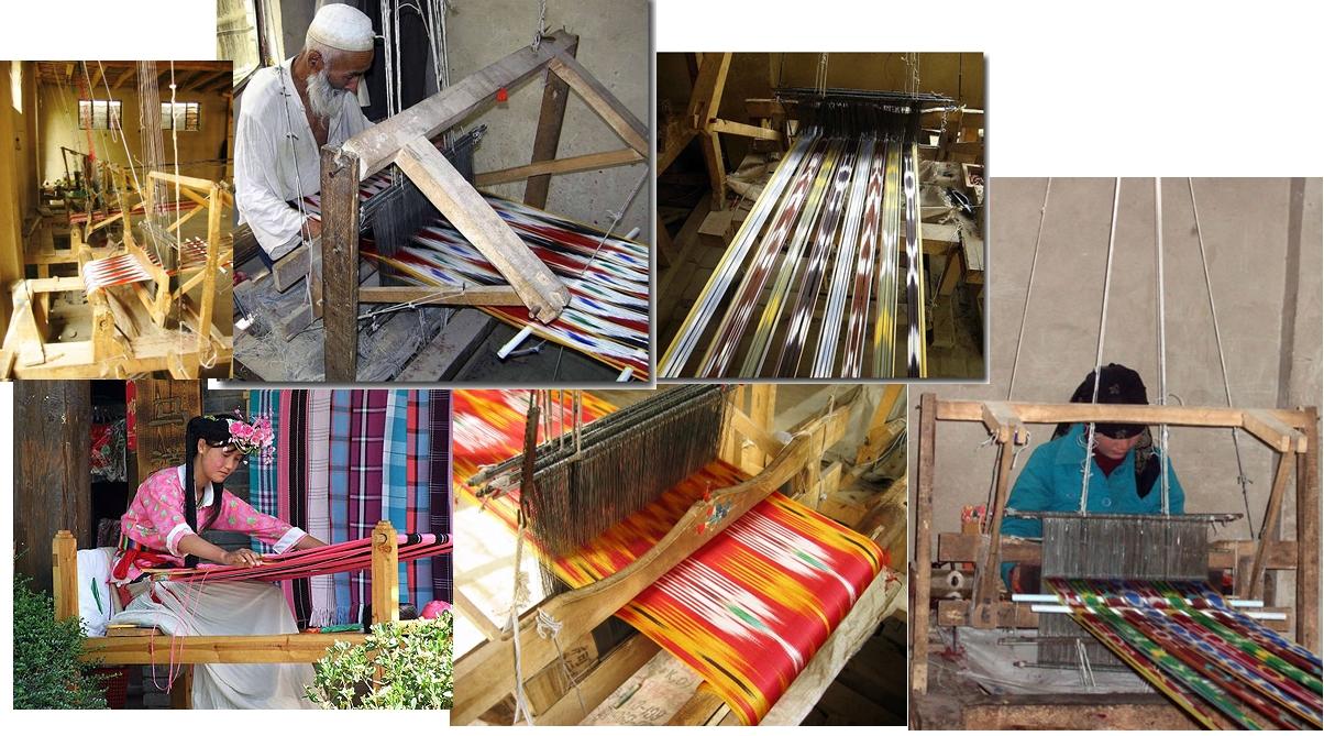 Hotan'da dokumacılık