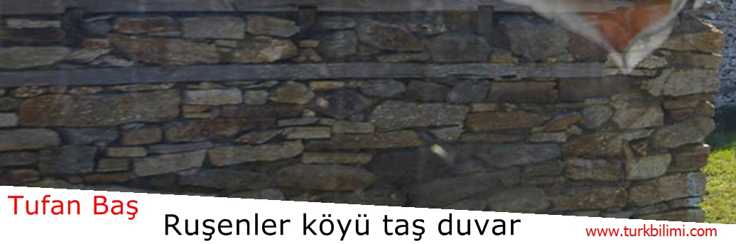 Ruşenler köyü taş duvar
