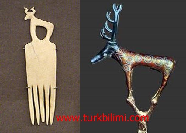 Nubian ve Hitit geyik tamgası