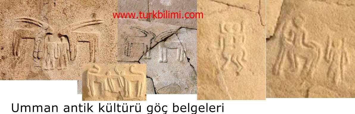 Umman antik kültürü göç belgeleri