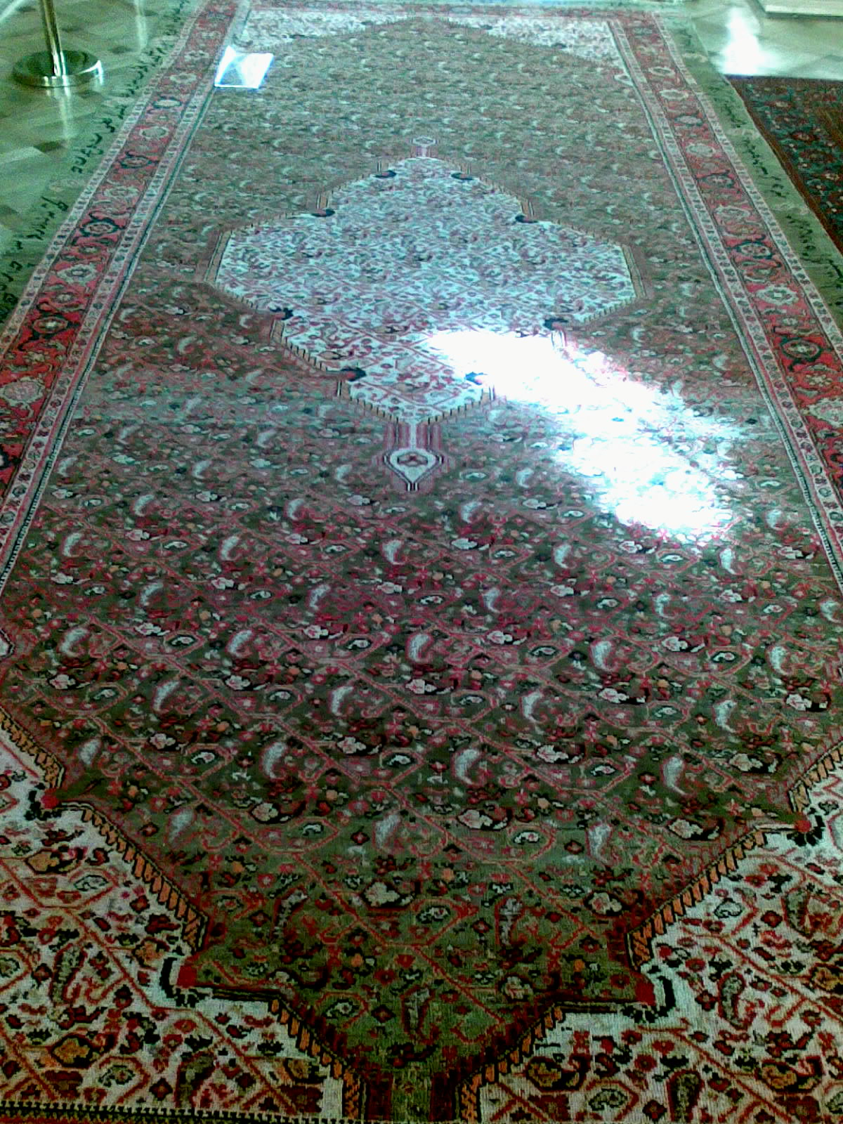 Revan Hanı Hüseyin Ali Han'a ait, Tebriz'de dokunmuş Melayir halısı