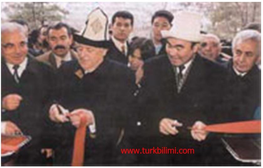 Kırgızistan Manas Üniversitesi açılışı