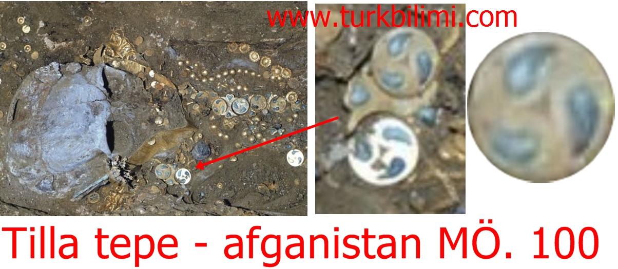 Tilla tepe - afganistan MÖ. 100
