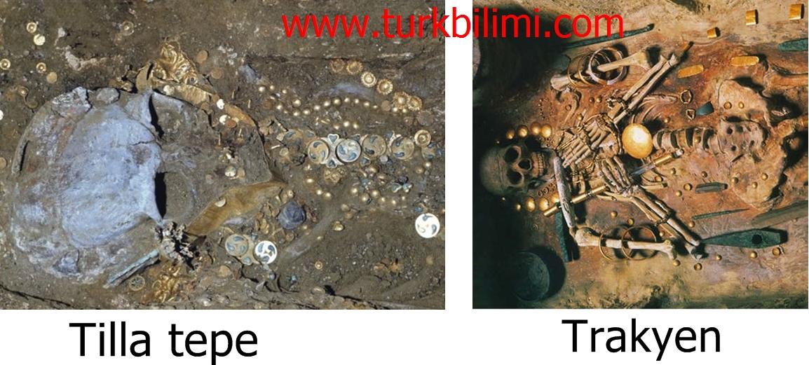 Tilla tepe ve Trakyen mezarları