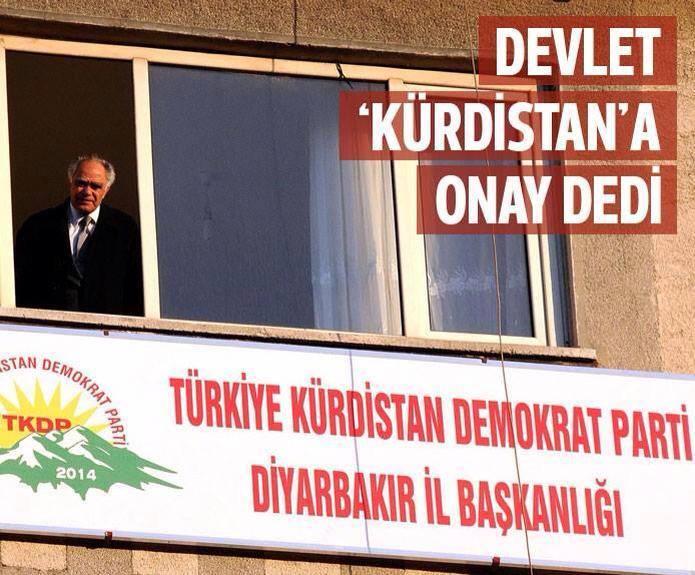devletten destekli kürdistan