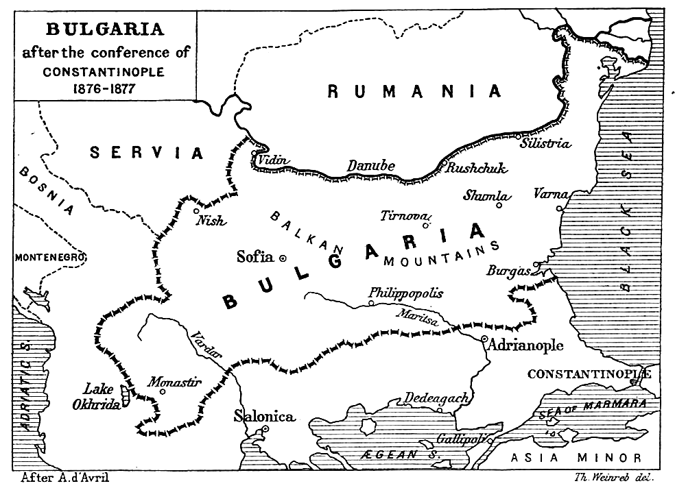 terasne konferansı kararında oluşan harita