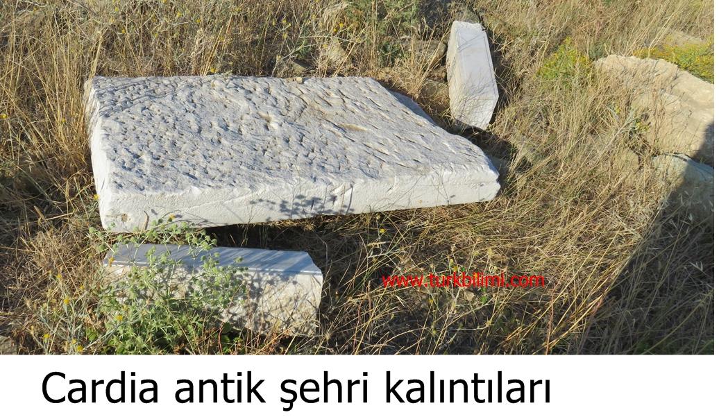 Cardia antik şehri kalıntıları