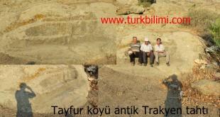 Tayfur köyü antik Trakyen tahtı