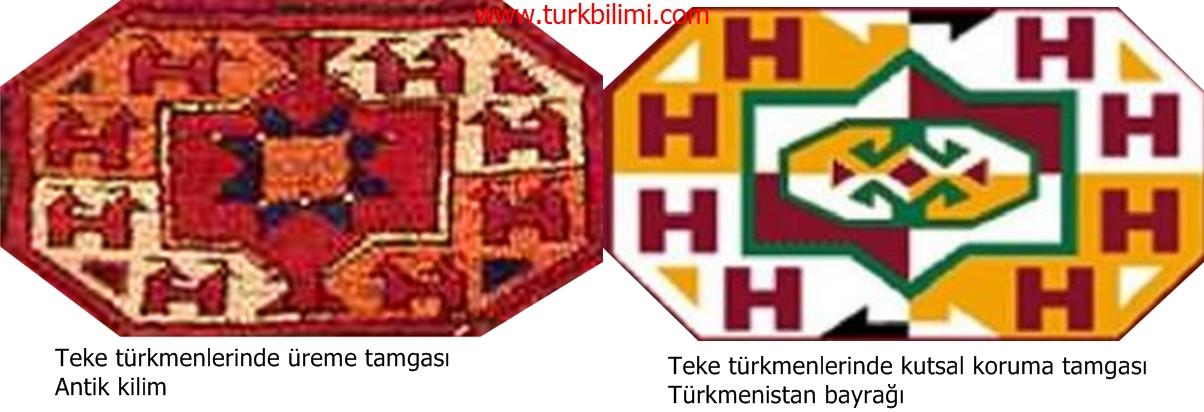 Teke türkmenlerinde kutsal koruma tamgası