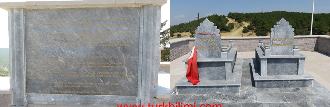 karainebeyli yeni düzenlenen ecebey ve kara nebi mezarları
