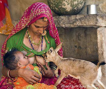 annelik-duygusu-hindistan-rajastan