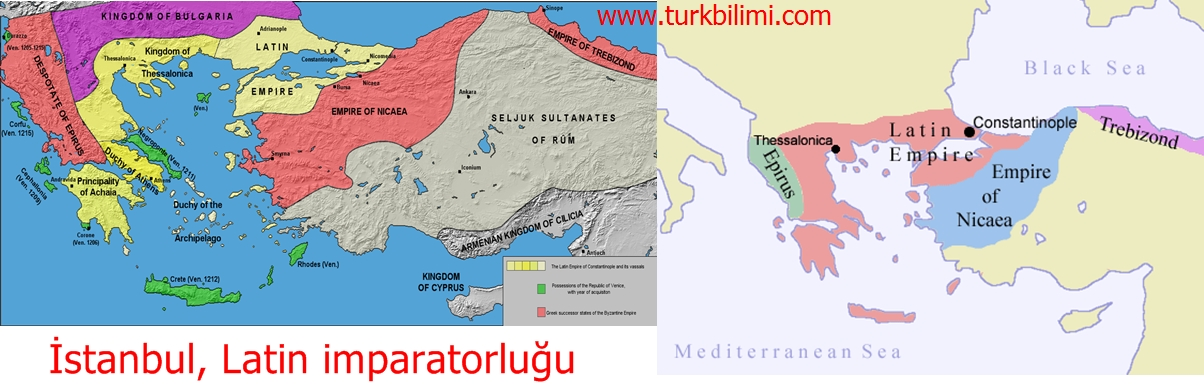 İstanbul, Latin imparatorluğu