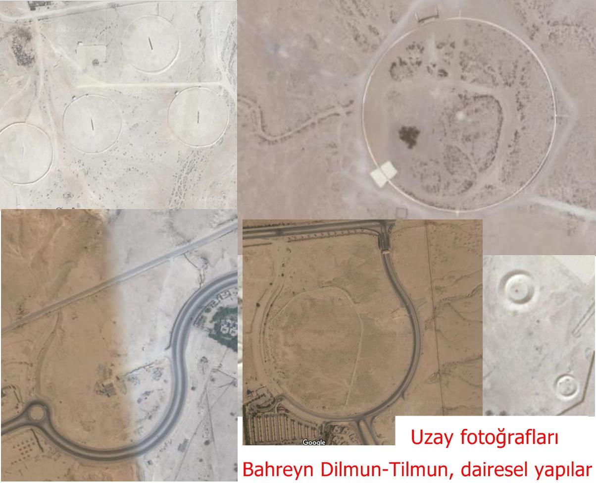 Bahreyn Dilmun-Tilmun, dairesel yapılar