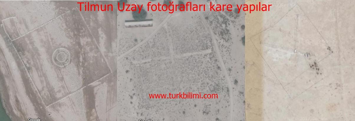 Tilmun Uzay fotoğrafları kare yapılar