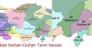 Türkiye Seyhan-Ceyhan Tarım havzası