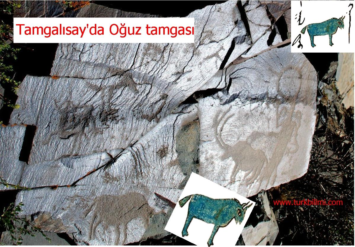 Tamgalısay'da Oğuz tamgası-15 Ağustos 2012