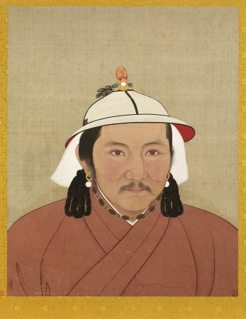YuanEmperorAlbumTughTemurPortrait