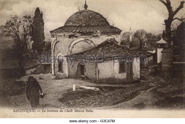 thessaloniki-greece-tomb-of-sheikh-musa-baba-date-circa-Thessaloniki, Greece - Tomb of Sheikh Musa Baba