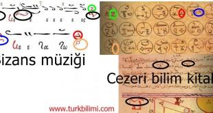 Bizans müziği ve Cezeri bilim kitabı