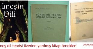 Güneş dil teorisi üzerine yazılmış kitap örnekleri