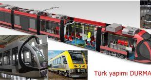 YÜZDE YÜZ YERLİ Türk yapımı DURMARAY, Bozkurt ve Karakurt trenleri tarihini hatırlattı.