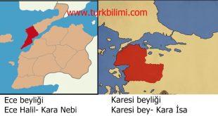 Çanakkale boğazında yeterince bilinmeyen denizci bir Selçuk tarihi, Karesi Beyliği, 1302-1361