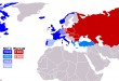 Dünya'da Nato-Varşova bölünmesi ile Türkiye'de iki kutuplu dünyanın savaş hareketleri.