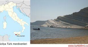 """Sicilya'da """"Türk merdivenleri"""" doğa harikası"""