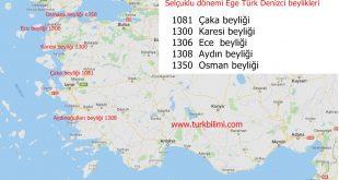 Ege Denizinde Anadolu Selçuklu tarihi 1081-1453