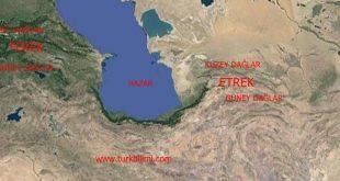 Güney Hazar'ın iki yanında iki nehir havzası ve kültür bağı TEREK – ETREK