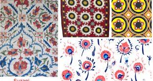 İpekyolu ticaretinin Orta Asya Türk nakış sanatı; Suzani – İğne nakışı